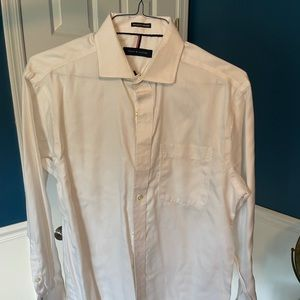 Tommy Hilfiger shirt, M, white micro texture